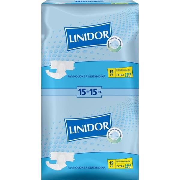 Linidor Classic Perfect Care Pannolone a Mutandina Grande 30 pezzi