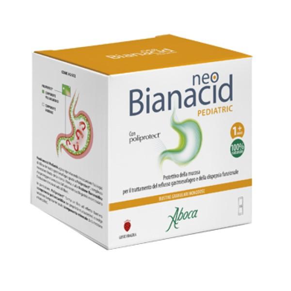 Aboca NeoBianacid Pediatric 36 Bustine - Integratore Contro Acidita' e Reflusso