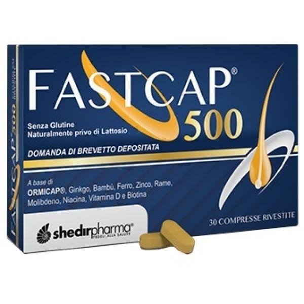 Fastcap 500 30 Compresse - Integratore Capelli