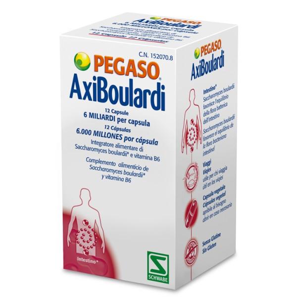 Pegaso AxiBoulardi Integratore Flora Batterica 12 Capsule
