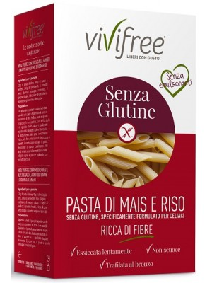 VIVIFREE Pasta Penne Rig.500g