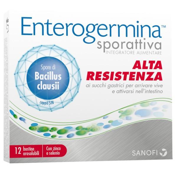 Enterogermina Sporattiva 12 Bustine - Integratore Difese Immunitarie