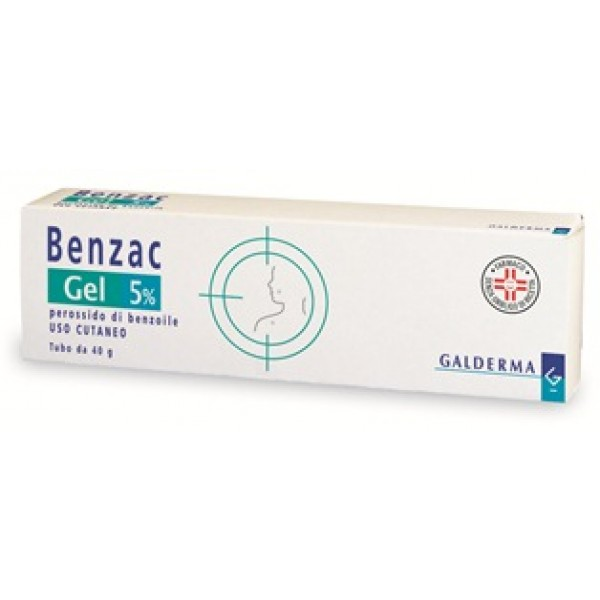 Benzac Gel 5% 40 grammi