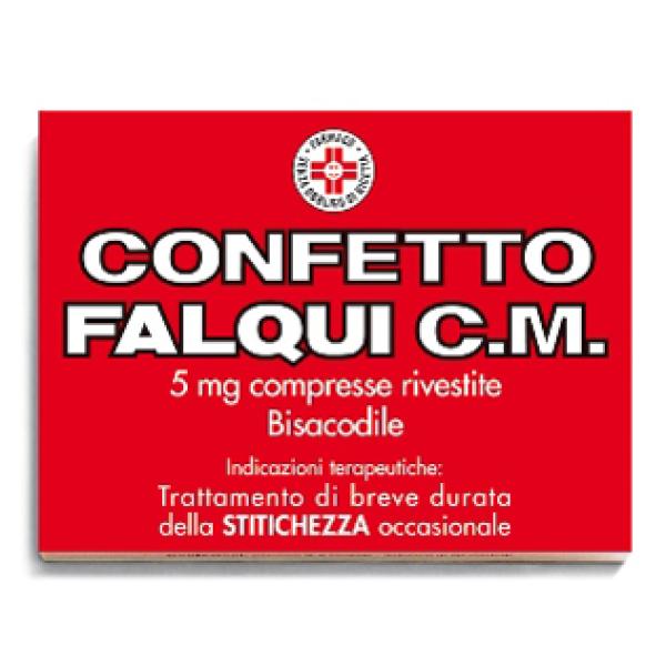 Confetto Falqui 5 mg 20 compresse - Trattamento Stitichezza Occasionale