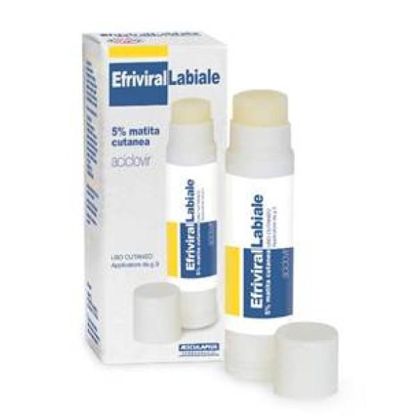 EFRIVIRAL Labiale Mat.Cut.3g