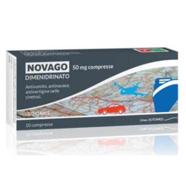 Nova Argentia Novago 10 Compresse - Integratore Prevenzione e Trattamento della Nausea