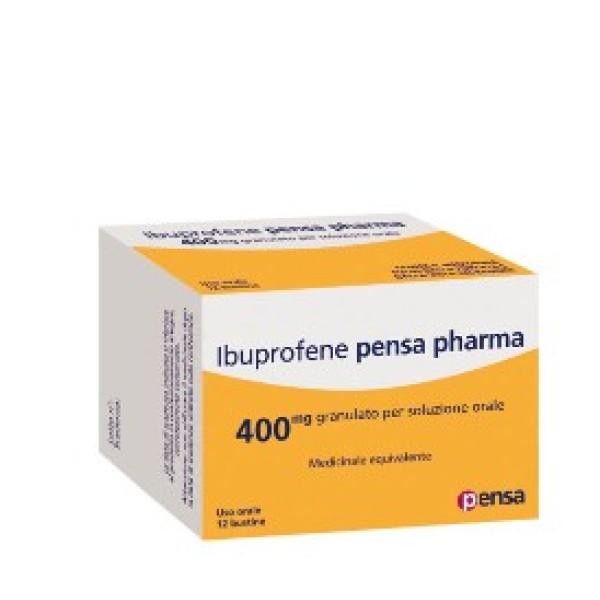 Ibuprofene Pensa Pharma 400 mg 12 Bustine