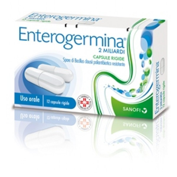 Enterogermina 2 Miliardi Bacillus Clausii 12 Capsule
