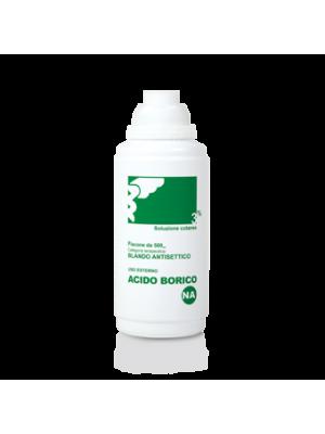 Nova Argentia Acido Borico Soluzione Cutanea Antisettico Disinfettante 500 ml