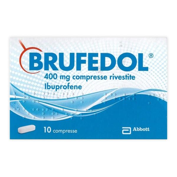 Brufendol Ibuprofene Analgesico 400 mg 10 compresse