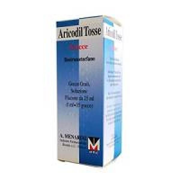 Aricodiltosse Gocce Soluzione Destrometorfano Tosse Flacone 25 ml