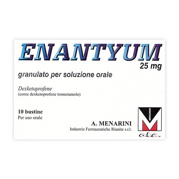 Enantyum 25 mg 10 Buste Orosolubili