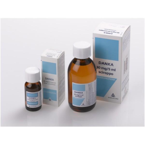 Danka Sciroppo 30 mg / 5 ml Levodropropizina Tosse 200 ml