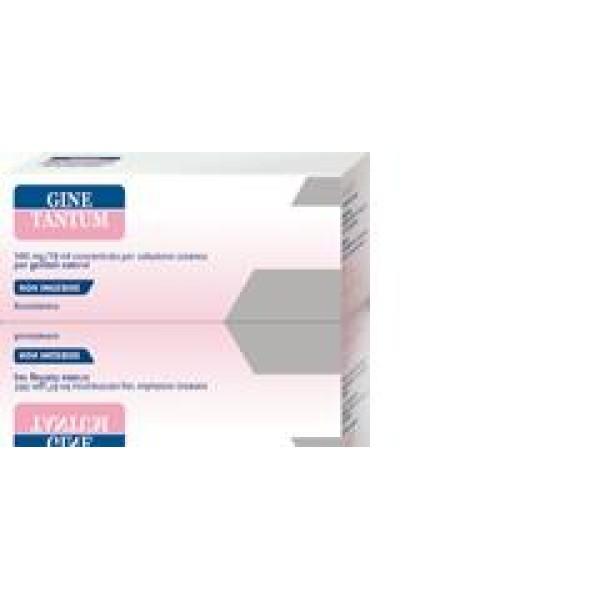 Ginetantum Soluzione Vaginale Benzidamina Cloridrato 5 Flaconi 140 ml