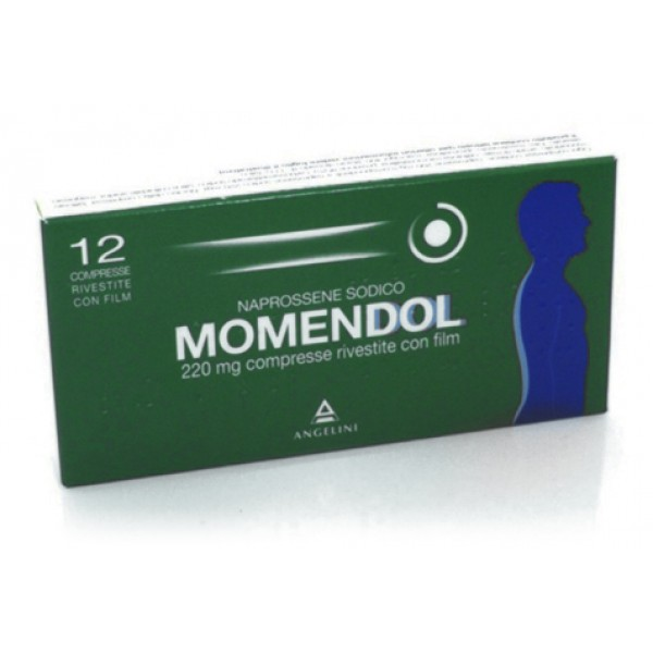 Momendol 220 mg 12 Compresse Rivestite