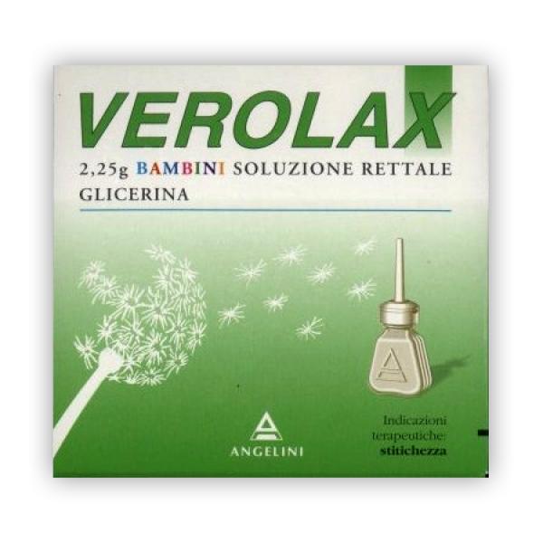 Verolax Bambini Soluzione Rettale 2,25 grammi 6 Clismi