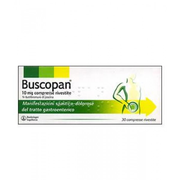 Buscopan 10mg Scopolamina Antispastico 30 Compresse