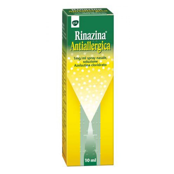 Rinazina Antiallergica Spray Nasale 1% Azelastina 10 ml