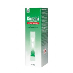 Rinazina Spray Nasale Decongestionante 0,1% Nafazolina 15ml