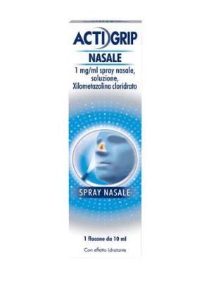Actifed Decongestionante Spray Nasale 1% Xilometazolina 10 ml