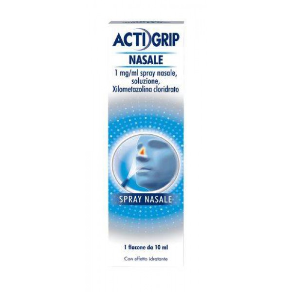 Actifed Decongestionante Spray Nasale 1% Xilometazolina 10 ml
