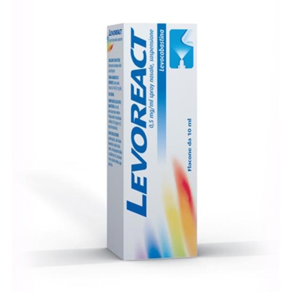 Levoreact Spray Nasale 0,5 mg Levocabastina Cloridrato 10 ml