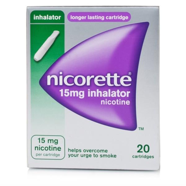 Nicorette Inhaler 15 mg Nicotina 20 Flaconcini Monodose