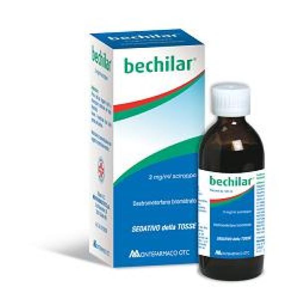 Bechilar Sciroppo Tosse 3% mg/ml Destrometorfano Bromidrato 100 ml