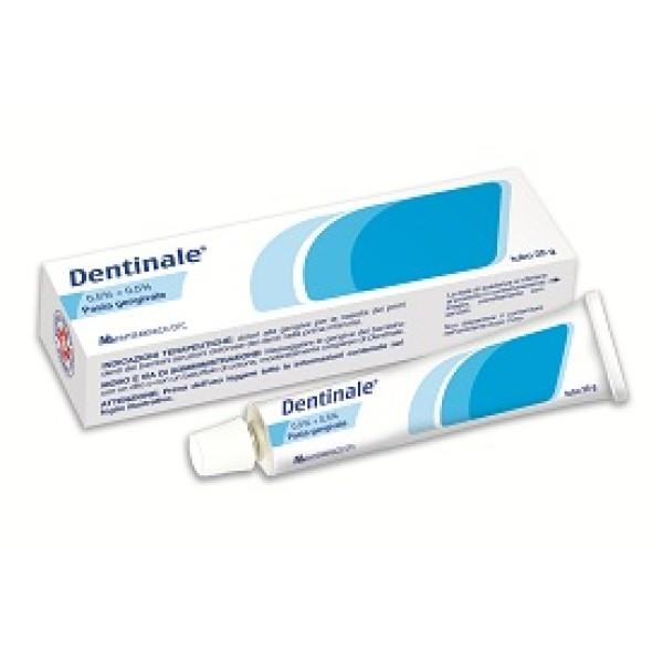 Dentinale Pasta Gengivale Bambini 0,5% + 0,5% Amilocaina Sodio Benzoato 25 grammi