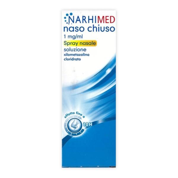 Narhimed Naso Chiuso Spray Nasale Adulti 1% Xilometazolina 10 ml