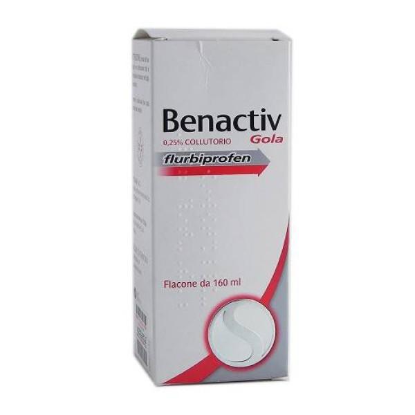 Benactiv Gola Collutorio 160 ml