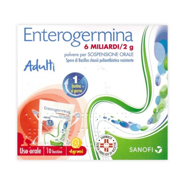 Enterogermina 6 Miliardi Bacillus Clausii 10 Bustine
