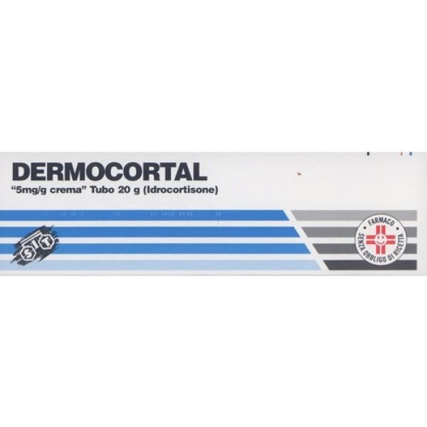 Dermocortal Crema 0,5% Idrocortisone 20 grammi