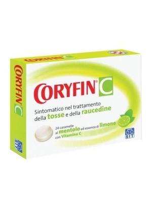 Coryfin C Limone 6,5 mg + 18 mg Tosse 24 Caramelle