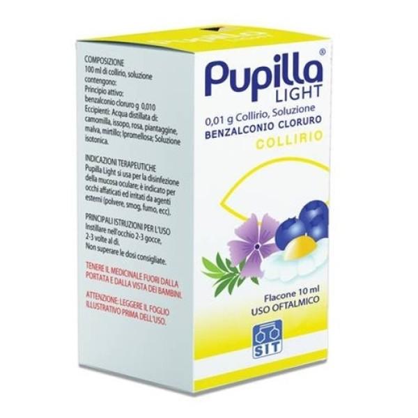 Pupilla Light Collirio 0,01% Benzalconio Cloruro 10 ml