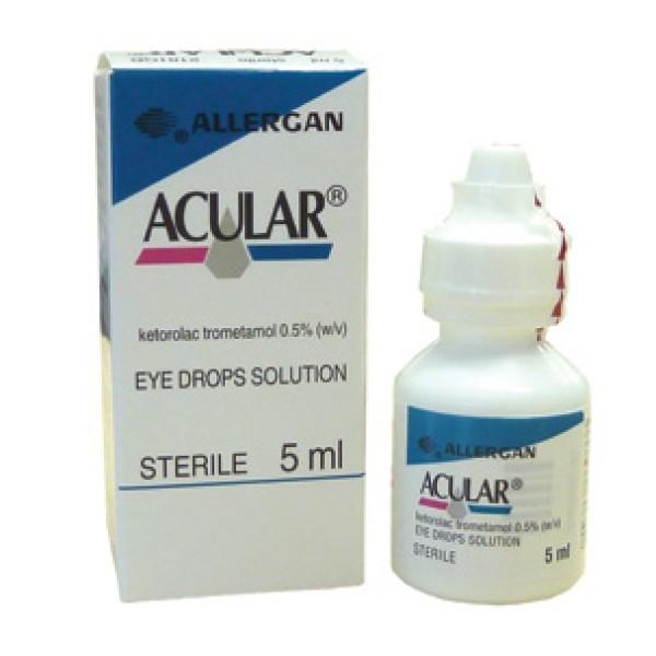 Acular 0,5% Ketorolac Soluzione Oftalmica 5 ml