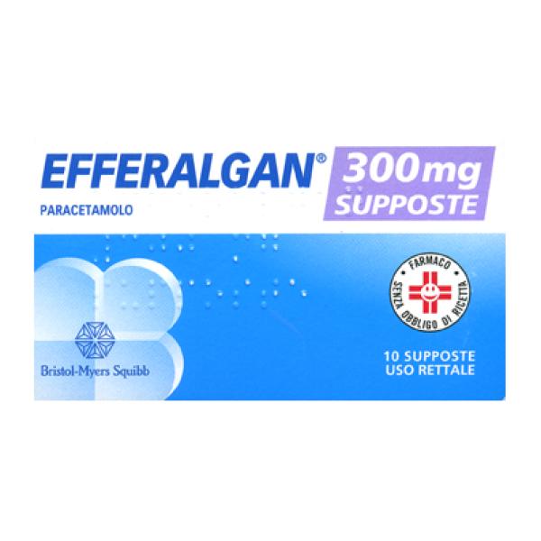 Efferalgan Bambini 300 mg Paracetamolo 10 Supposte