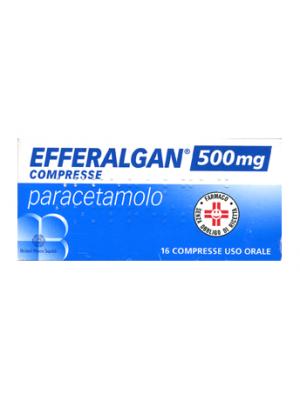 Efferalgan 500 mg Paracetamolo 16 Compresse