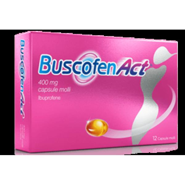 Buscofenact 400mg Ibuprofene 12 capsule