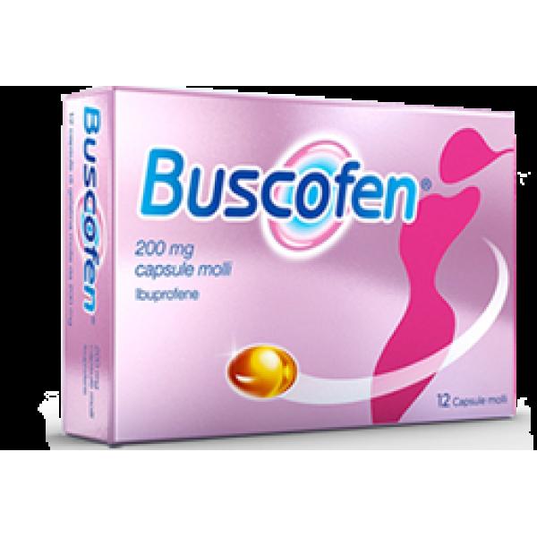 Buscofen 200mg Ibuprofene 12 Capsule Molli