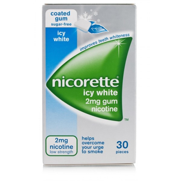 Nicorette Gomme 2 mg Nicotina Menta 30 Gomme Masticabili