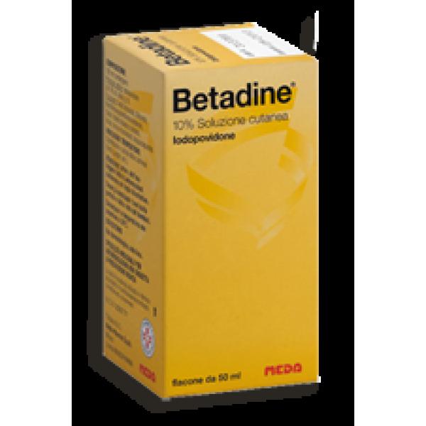 Betadine 10% Soluzione Cutanea 50 ml