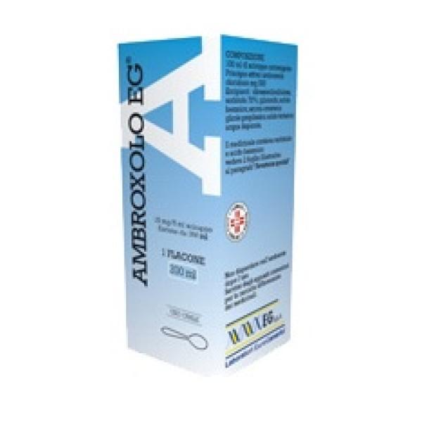 Ambroxolo EG 15 mg/5 ml Sciroppo Mucolitico 200 ml