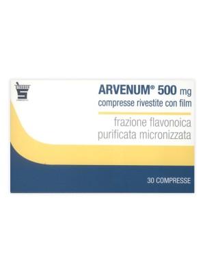Arvenum 500 mg 30 compresse rivestite per Insufficienza Venosa