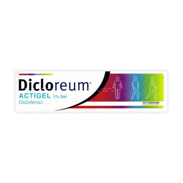 Dicloreum Actigel Antinfiammatorio 1% Diclofenac 100 grammi