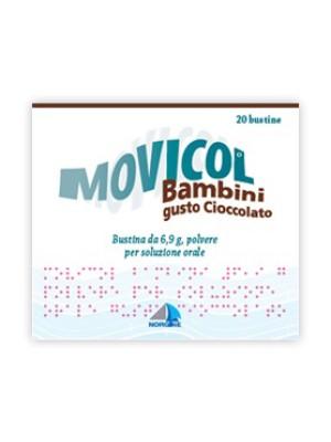 Movicol Bambini Gusto Cioccolato 20 bustine