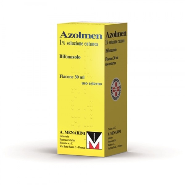 Azolmen Soluzione 1% Bifonazolo 30 ml