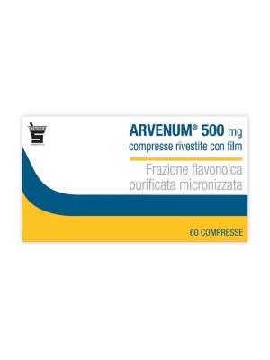 Arvenum 500 mg 60 compresse rivestite per Insufficienza Venosa
