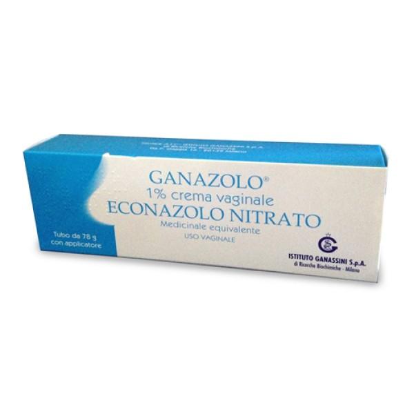 Ganazolo Crema Vaginale 1% Econazolo 78 grammi con Applicatore