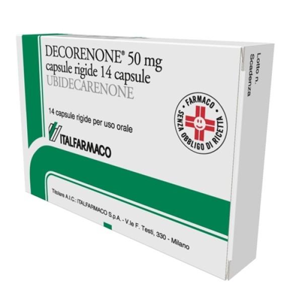 Decorenone 50 mg 14 Capsule - Integratore Alimentare